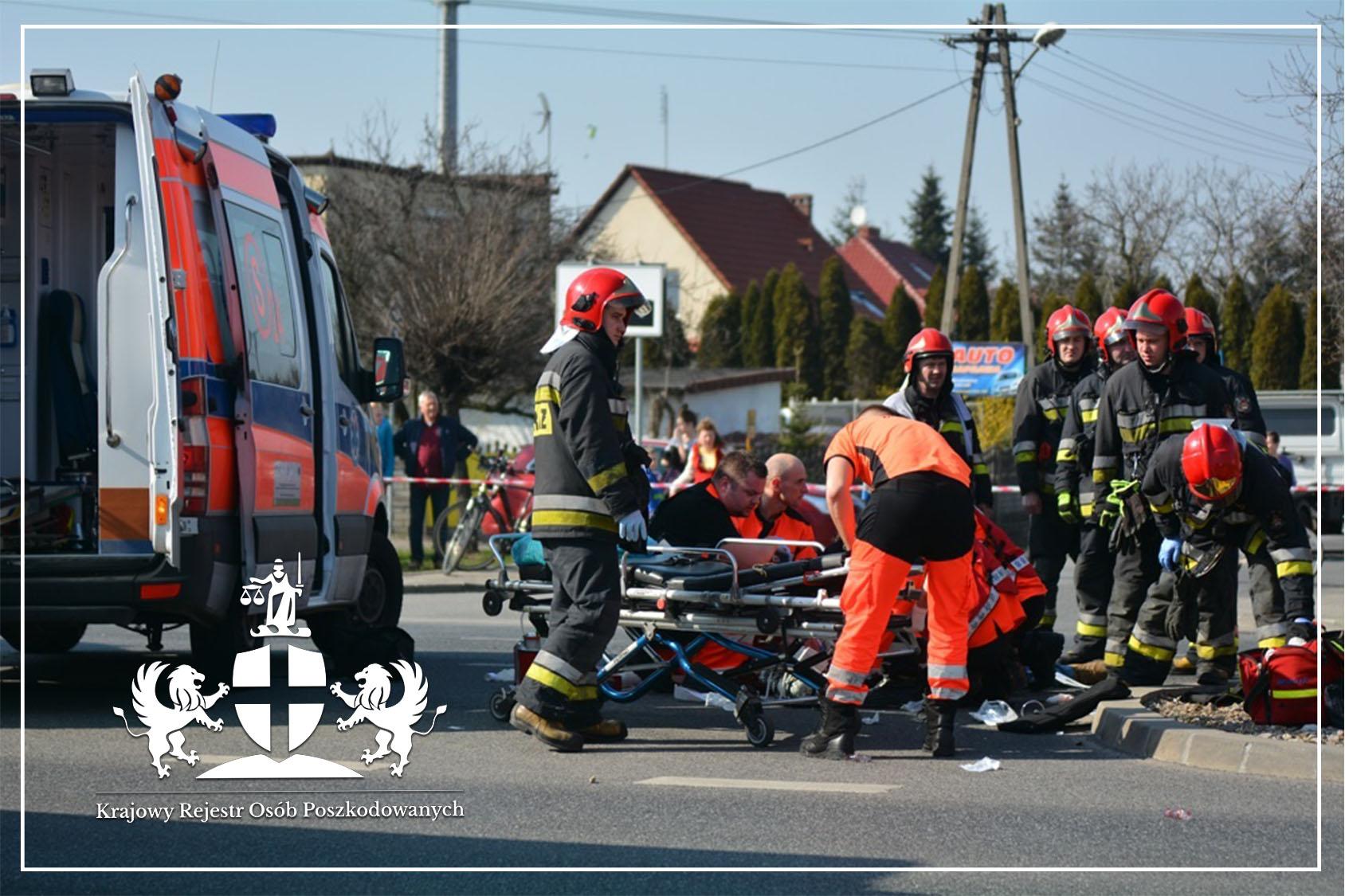 Obrażenia ciała w wypadku drogowym