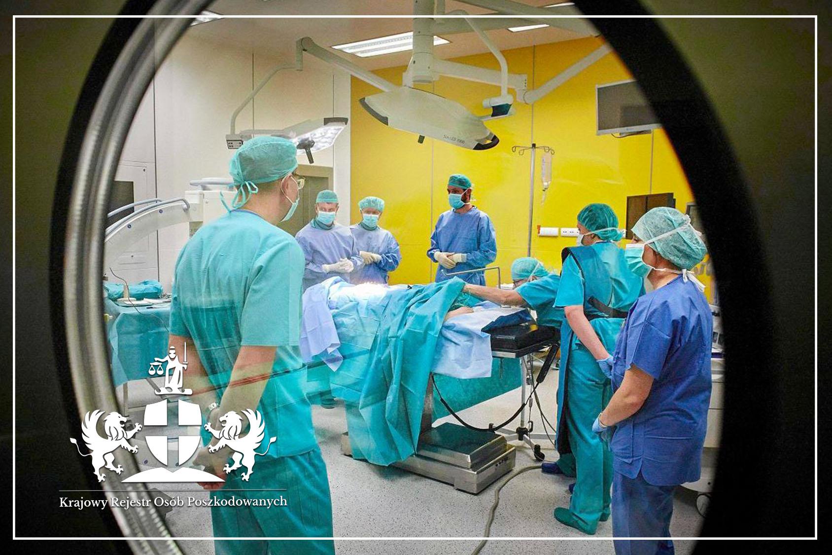 Błąd organizacyjny szpitala - na czym polega