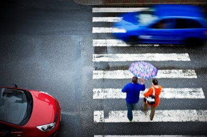 Potrącenie na pasach - odszkodowanie dla pieszego
