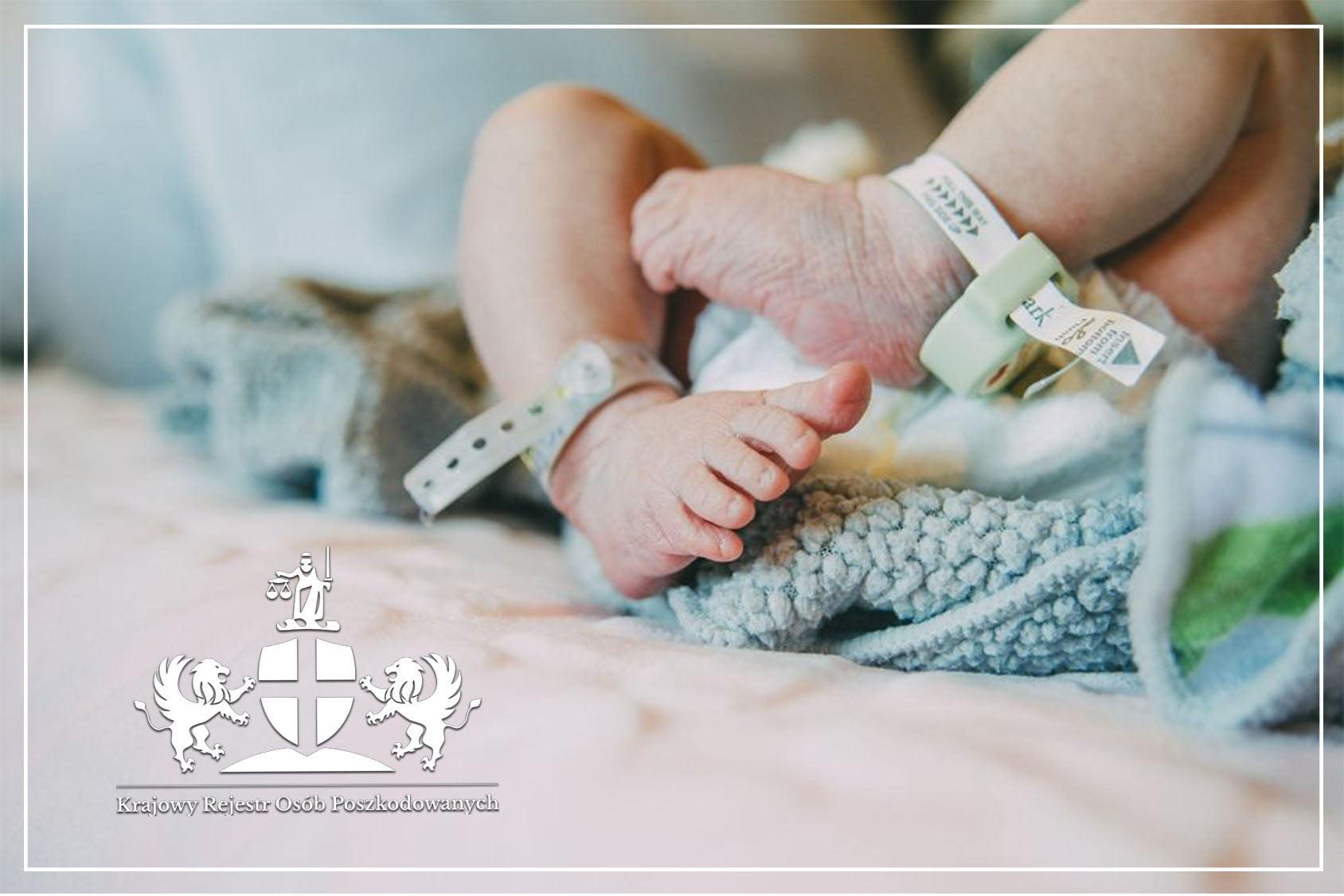 Śmierć noworodka przy porodzieka