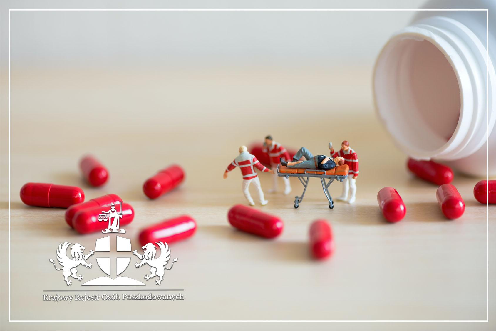 Błąd w podaniu leków