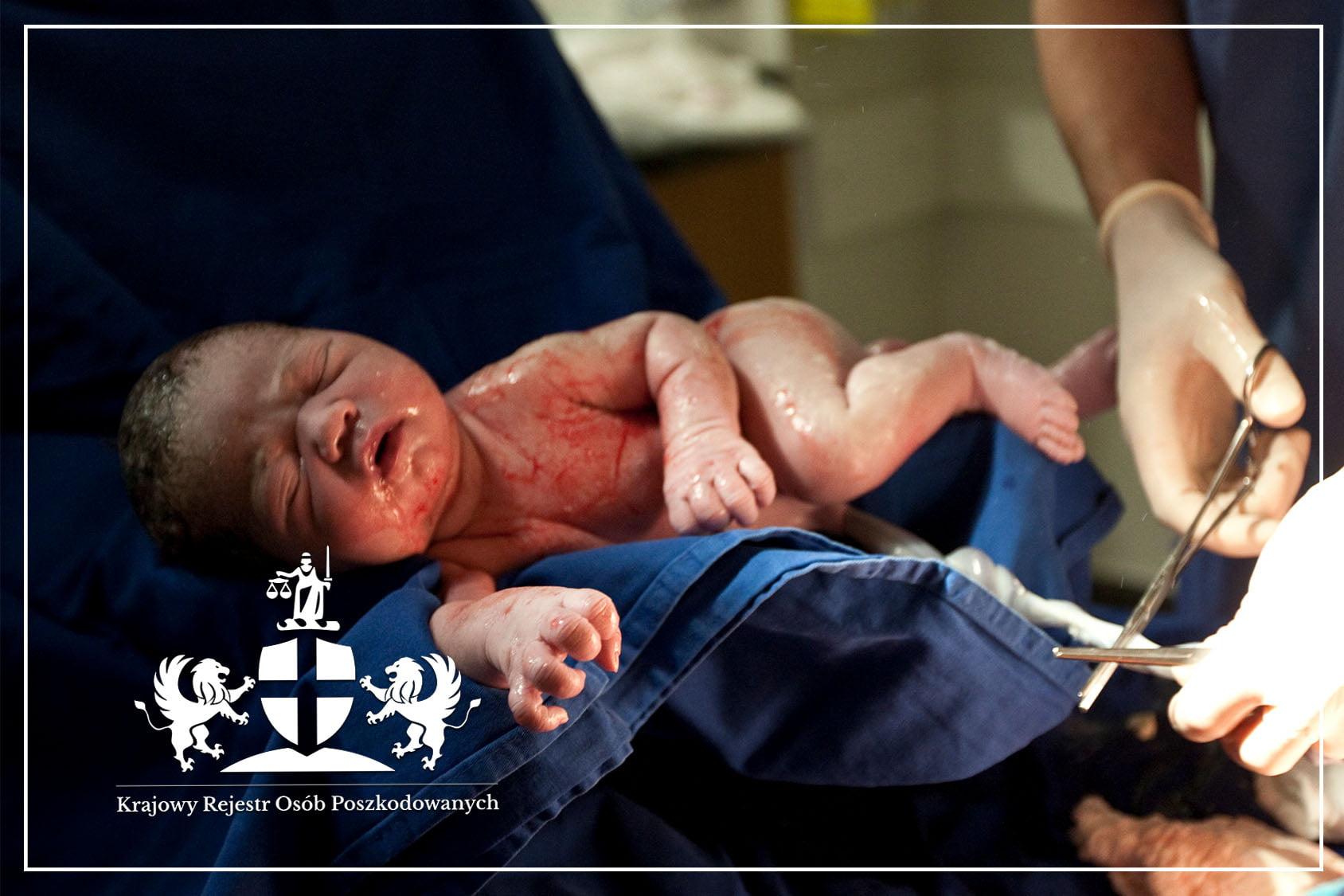 Śmierć noworodka w trakcie porodu