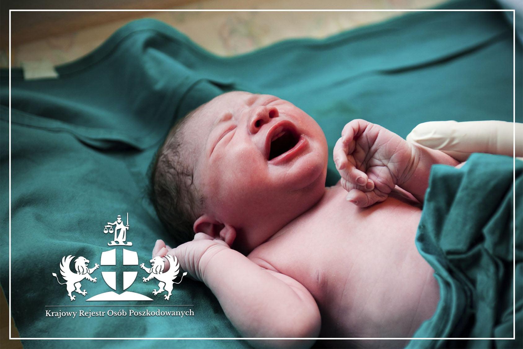 Urazy poporodowe noworodka