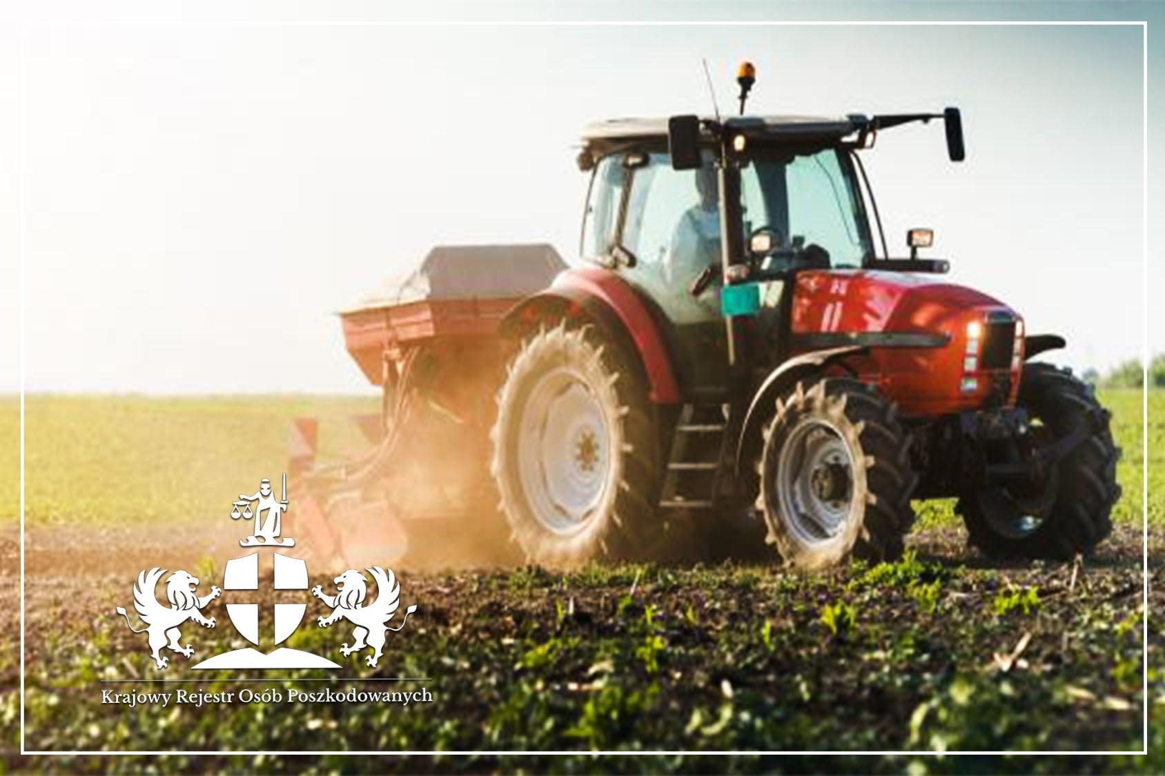 Wypadek przy pracy rolniczej odszkodowanie